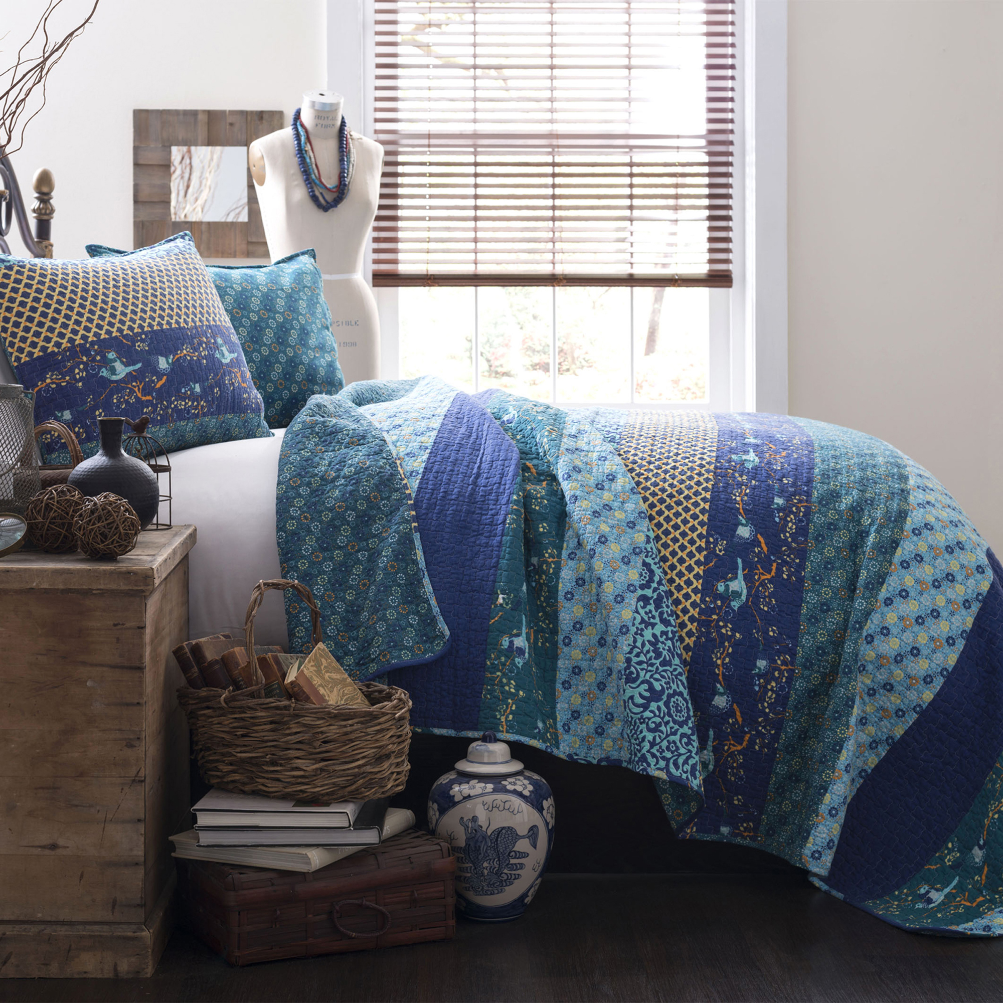 loom brooklyn set sets queen by quilt island full coney