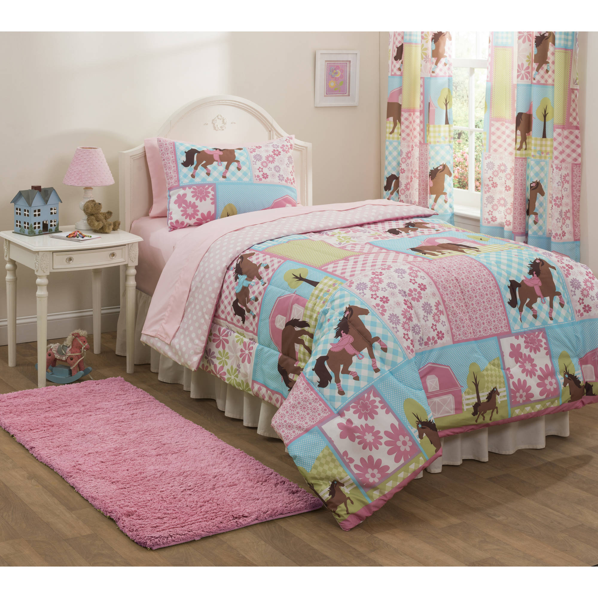 Mainstays Kids Country Meadows Bed In A Bag Bedding Set Ebay