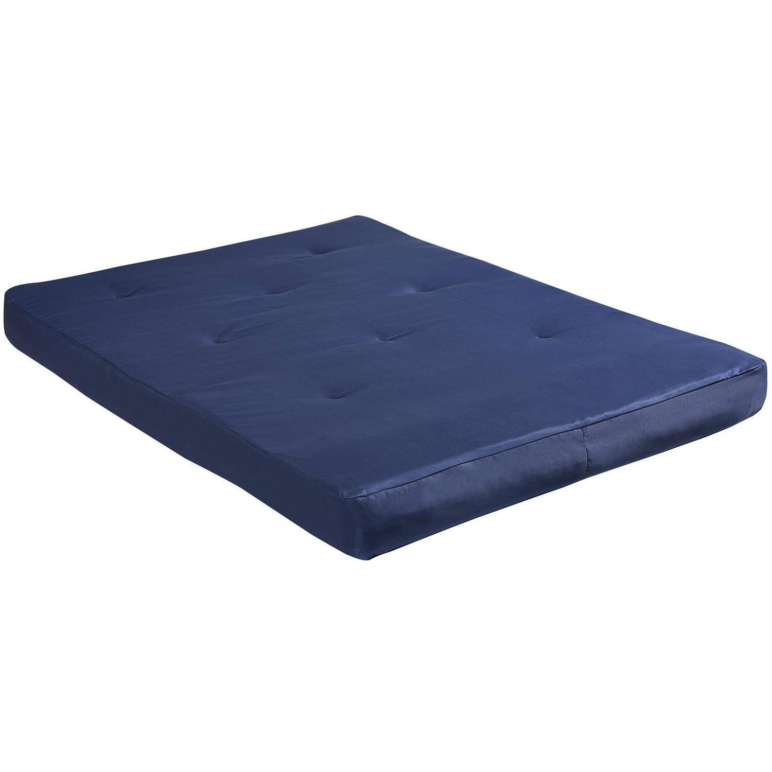 Dorel Home 8 Full Size Futon Mattress Navy