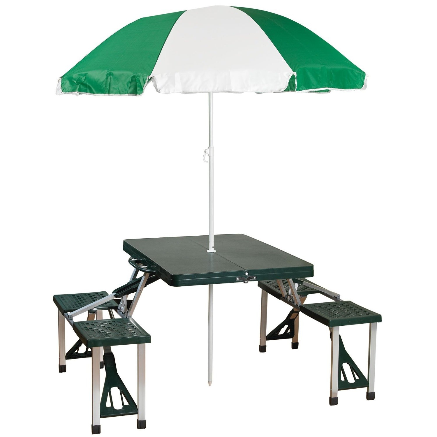 Fabulous Details About Fold Up Portable Carry On Outdoor Suitcase Picnic Table 4 Seats Umbrella Yard Pdpeps Interior Chair Design Pdpepsorg
