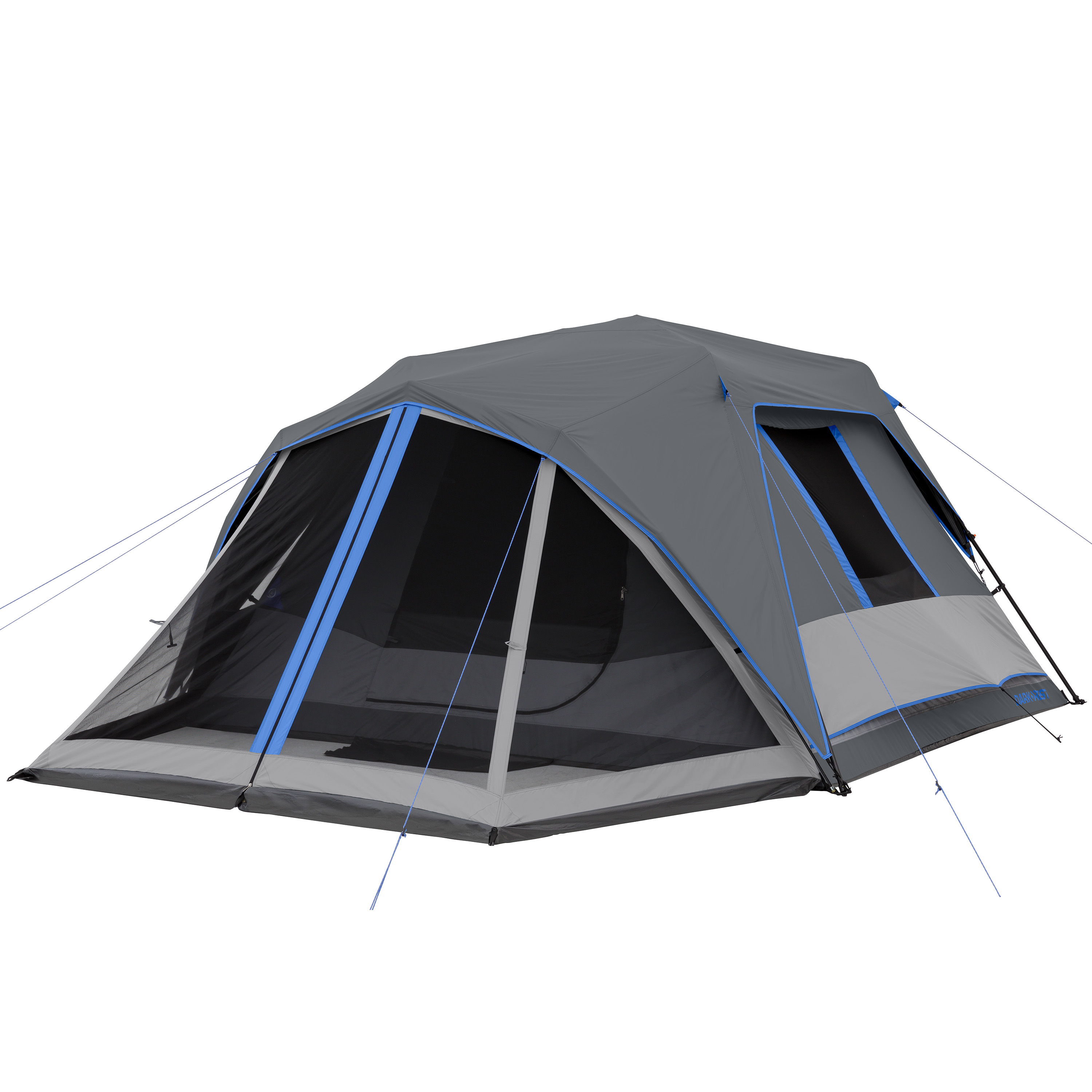 Details about OZARK TRAIL 6 PERSON INSTANT DARKREST CABIN TENT WITH LIGHT