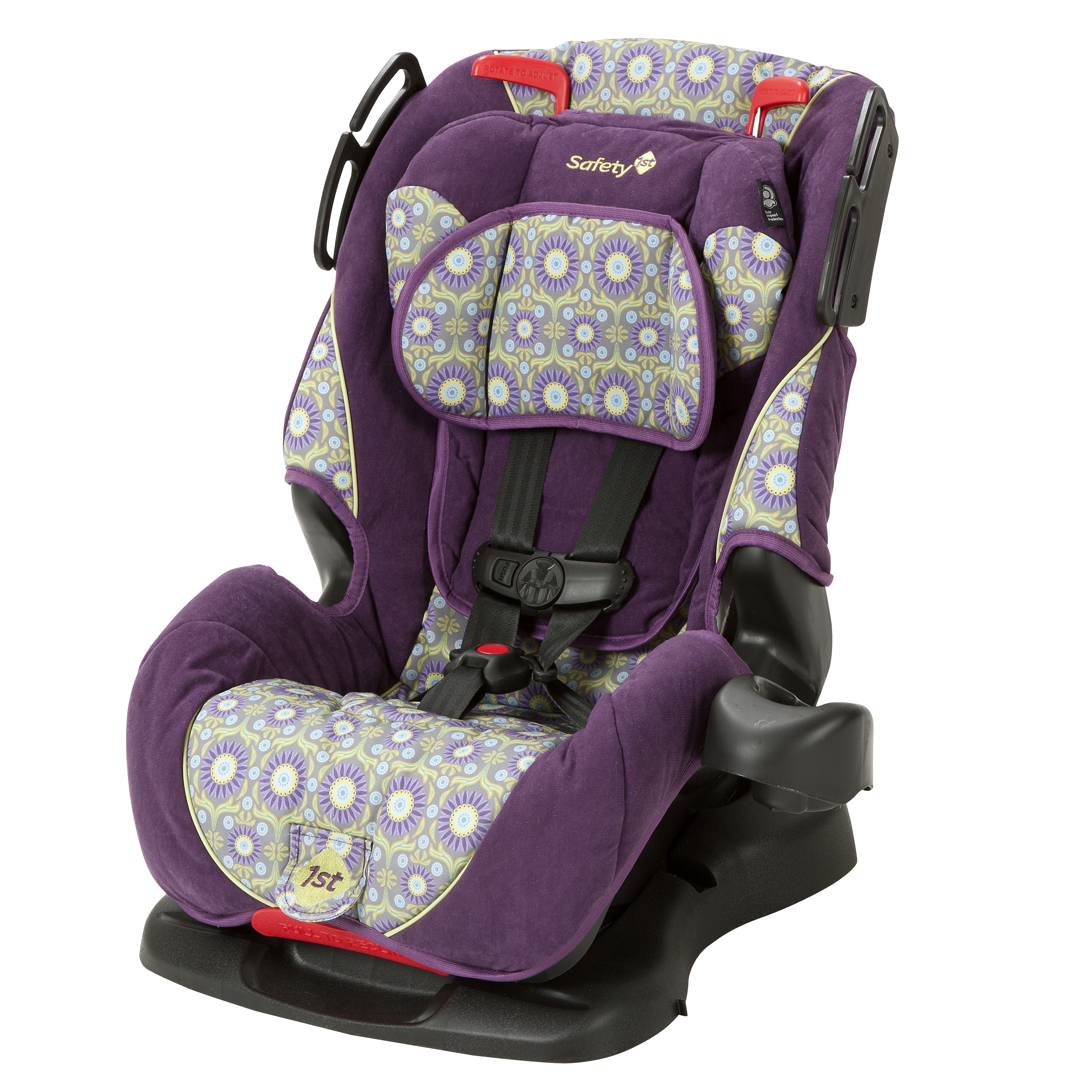 the research safety first car seat purple