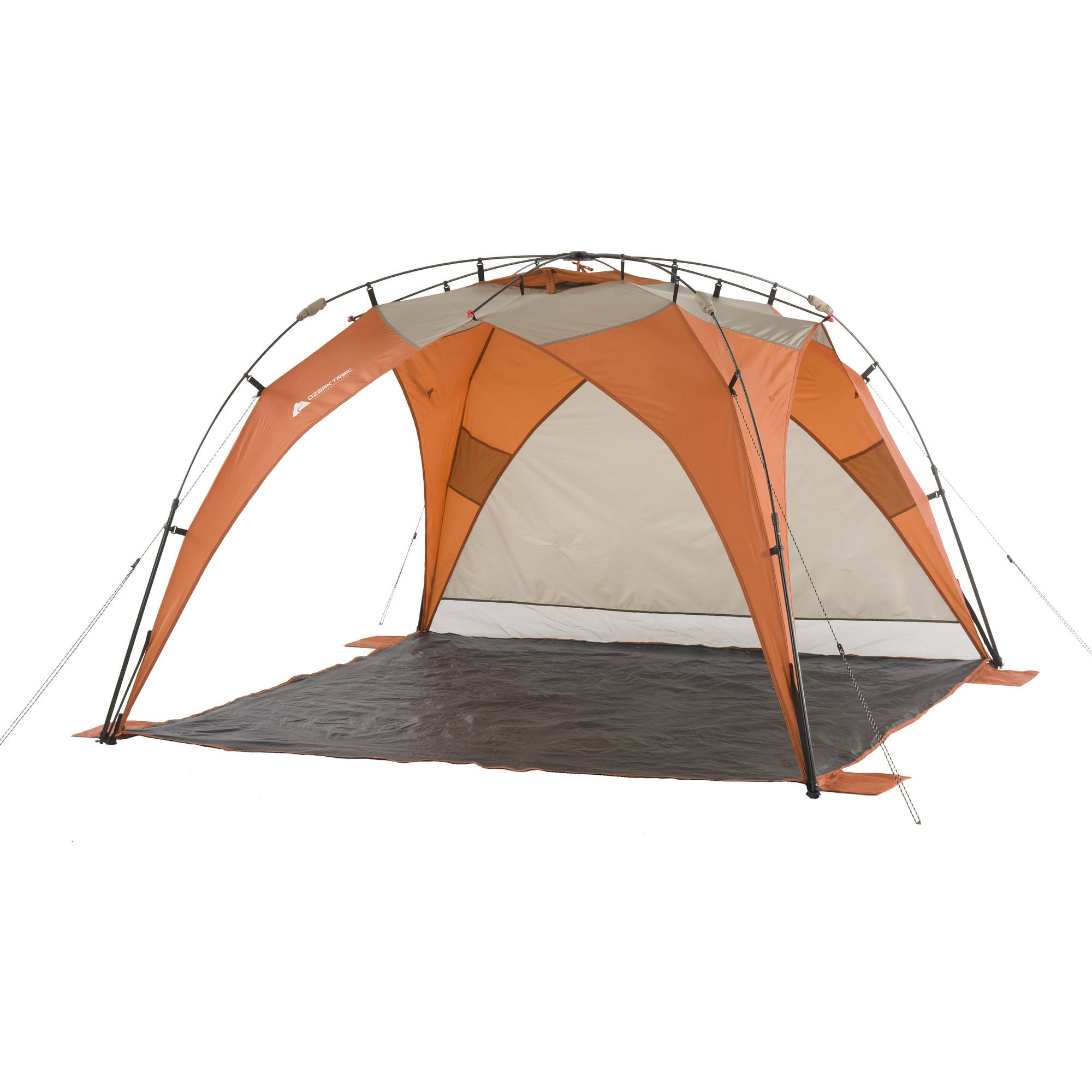 Ozark Trail 8u0027 x 8u0027 Instant Sun Shade (64 sq.ft Coverage  sc 1 st  eBay & Ozark Trail Sun Shade Portable Tent 8x8 Instant Beach Outdoor ...