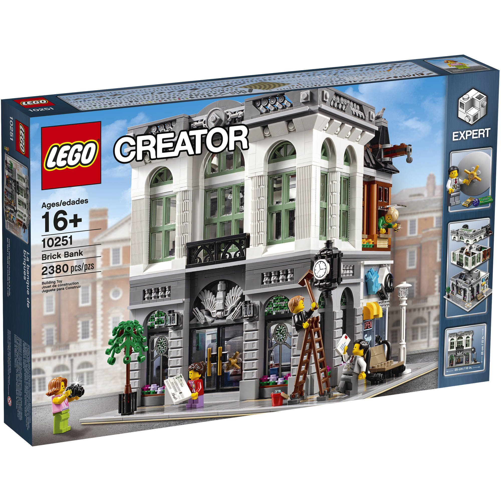 lego creator expert brick bank 10251 5702015591058 ebay. Black Bedroom Furniture Sets. Home Design Ideas