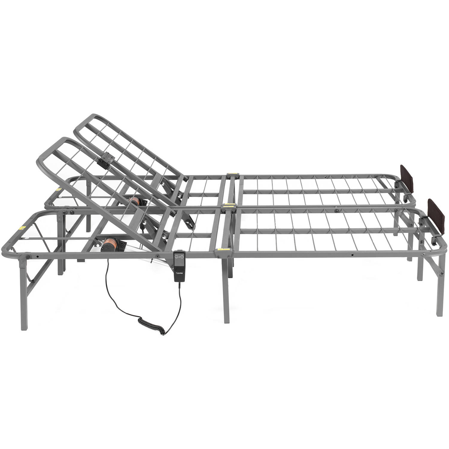 Adjustable Bed Frame Electric Lift Remote Control King Size Back ...