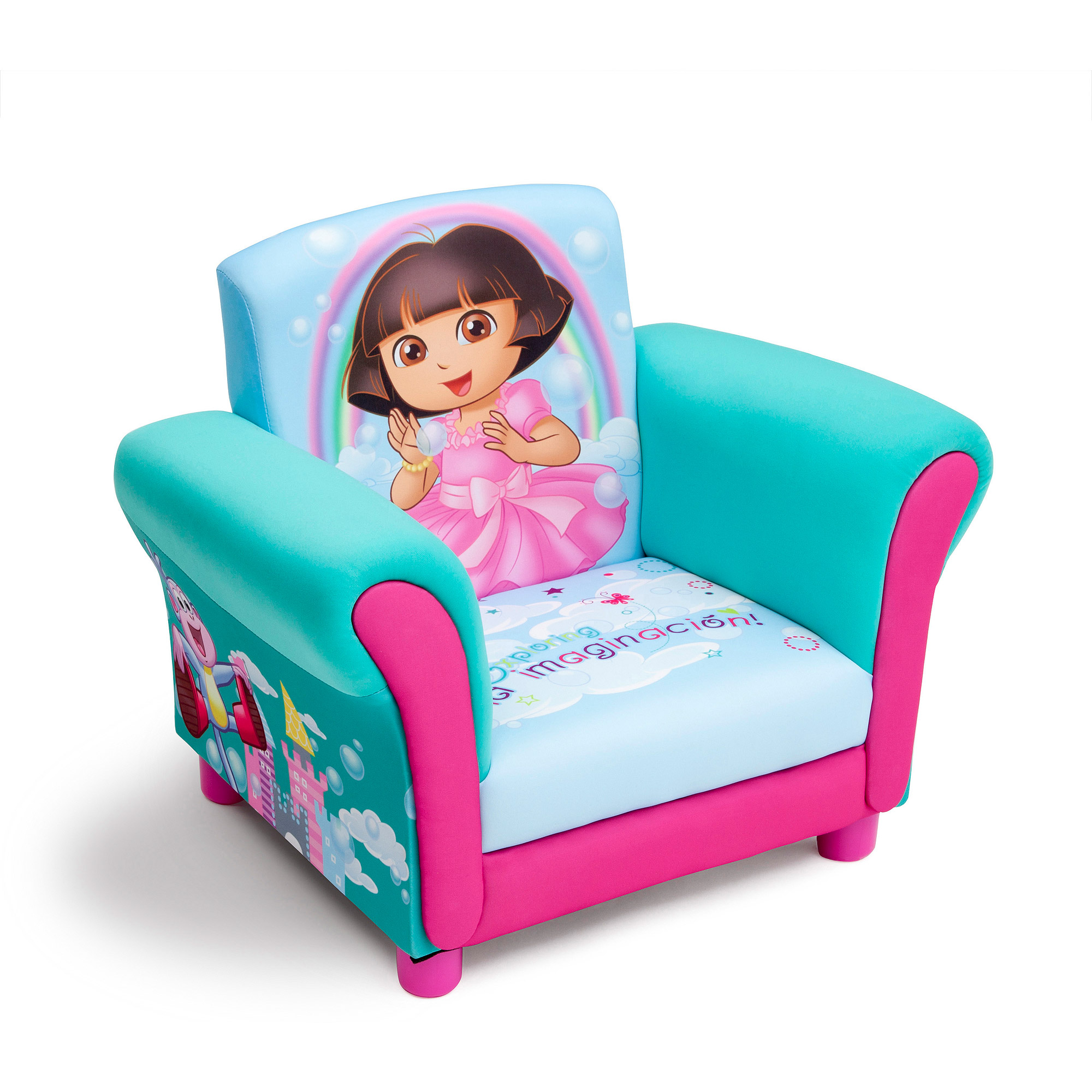 Delicieux Delta Childrenu0027s Products Nickelodeon Dora Upholstered Chair