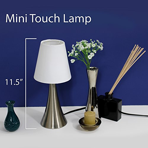 2 set modern stand table lamps lamps touch sensor bedroom