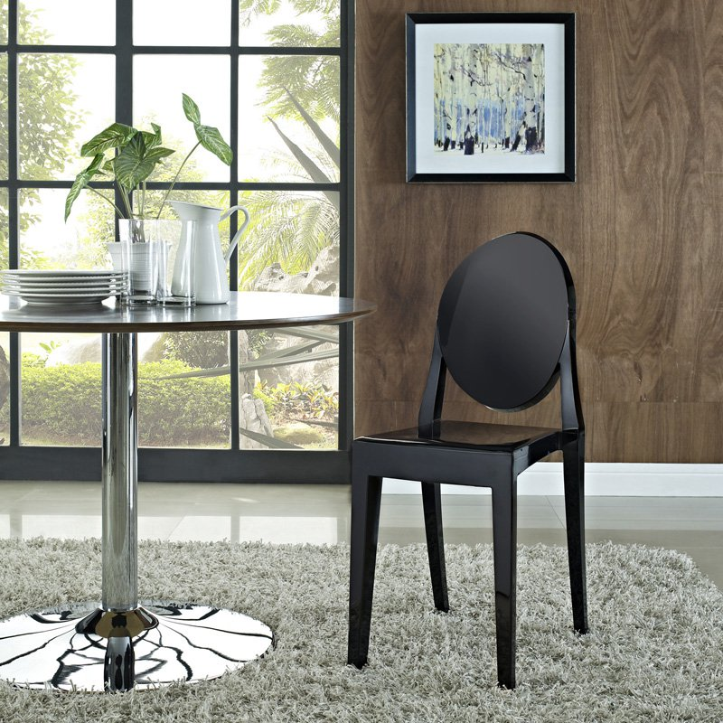 Image Is Loading Modway Casper Stackable Dining Side Chair Multiple Colors