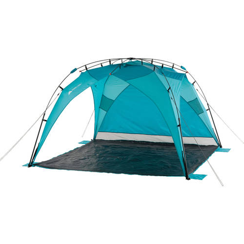 Ozark Trail 8u0027 x 8u0027 Instant Sun Shade (64 sq.ft Coverage  sc 1 st  eBay : shade beach tent - memphite.com