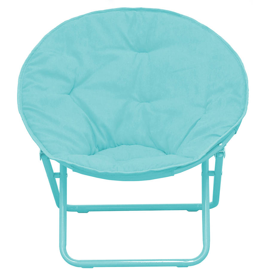 Stupendous Details About American Kids Solid Faux Fur Saucer Chair Teal Modern Comfort Design Foldable Alphanode Cool Chair Designs And Ideas Alphanodeonline
