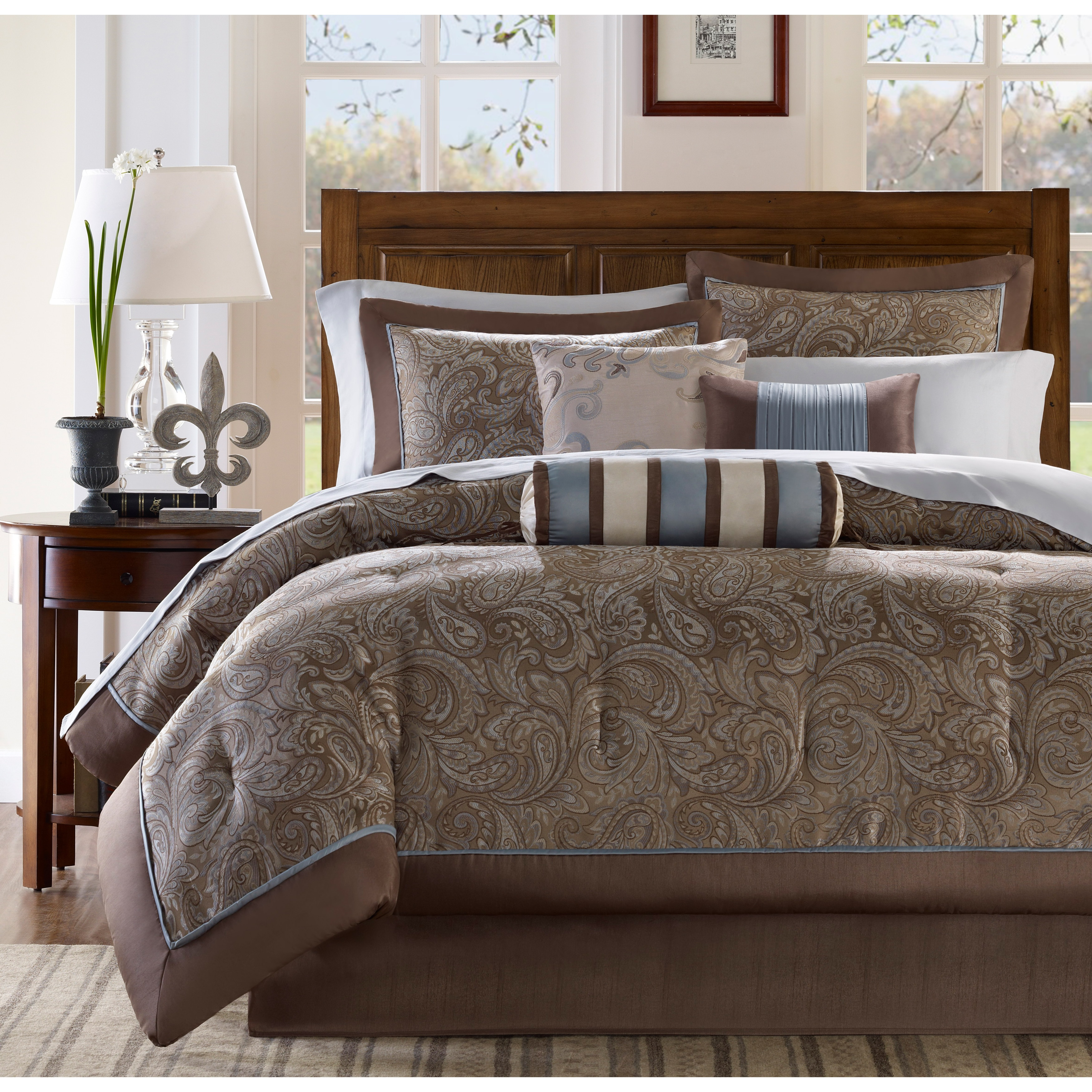 piece sets king set cal aubrey california park madison comforter size of p comforters picture