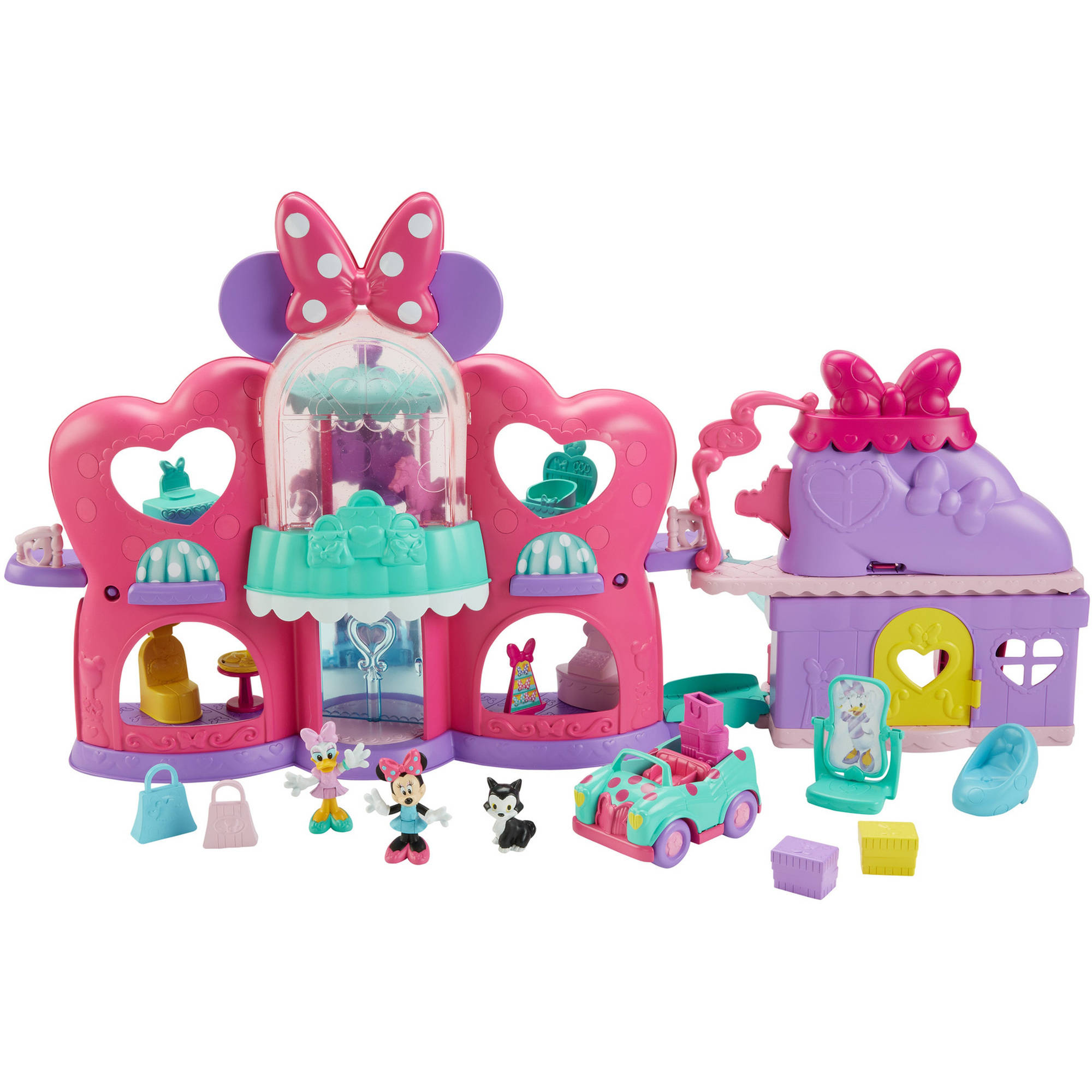 superb New Minnie Mouse Toys Part - 3: Fisher-Price Disney Minnie Mouse Fabulous Shopping Mall | eBay