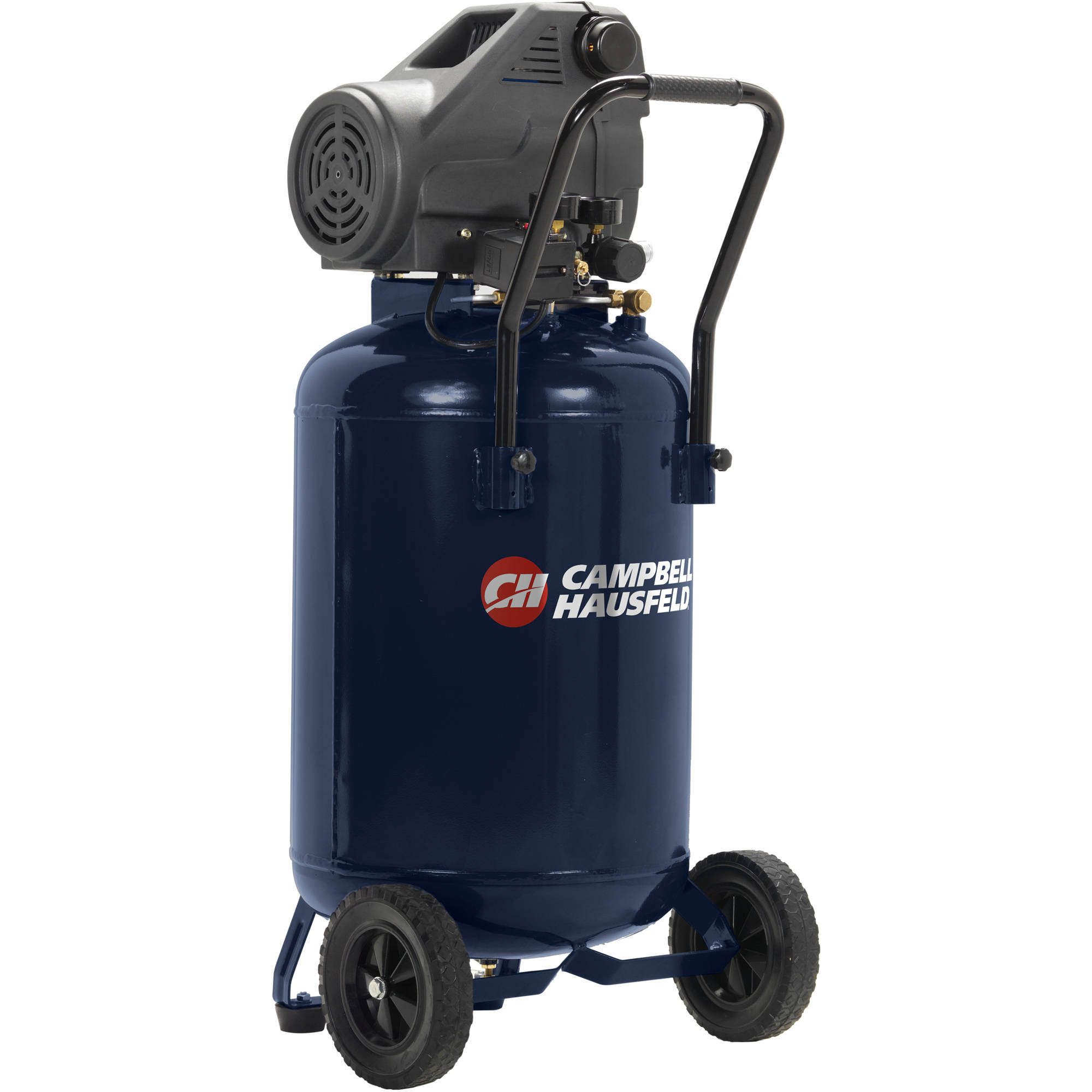 Air Compressor Dc200100 20 Gallon Oil Free Home Workbench Handles Paint Spraying