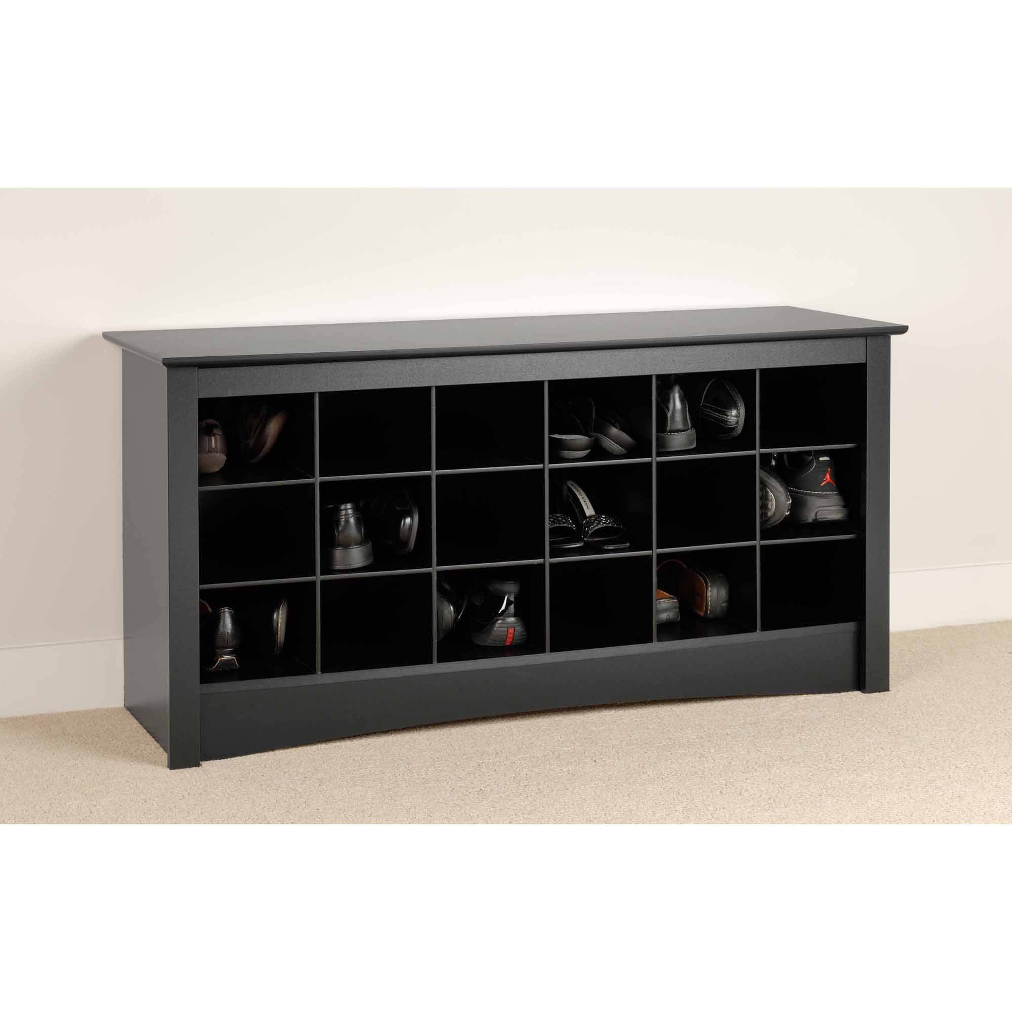 Image Is Loading Prepac Shoe Storage Cubbie Entryway Bench