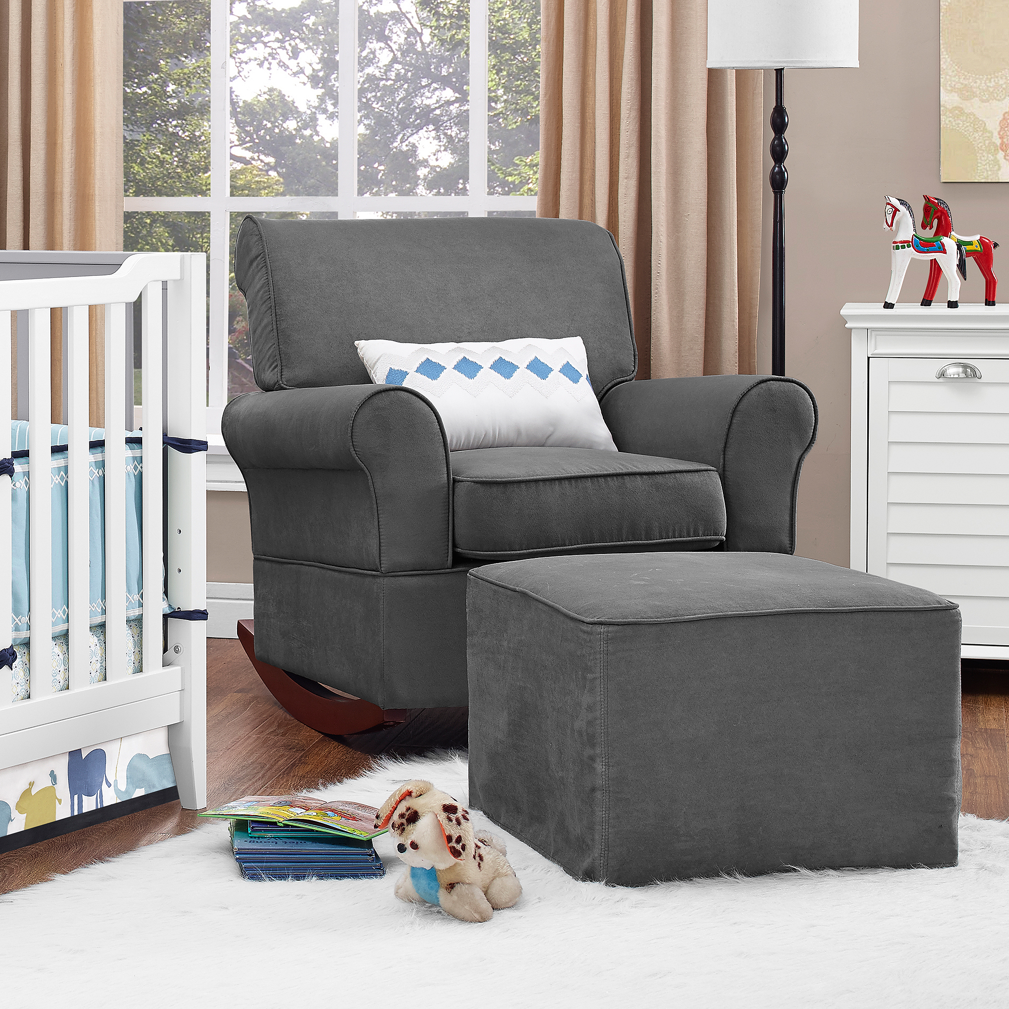 Baby Relax Mackenzie Rocker Gray; Picture 2 Of 4 ...