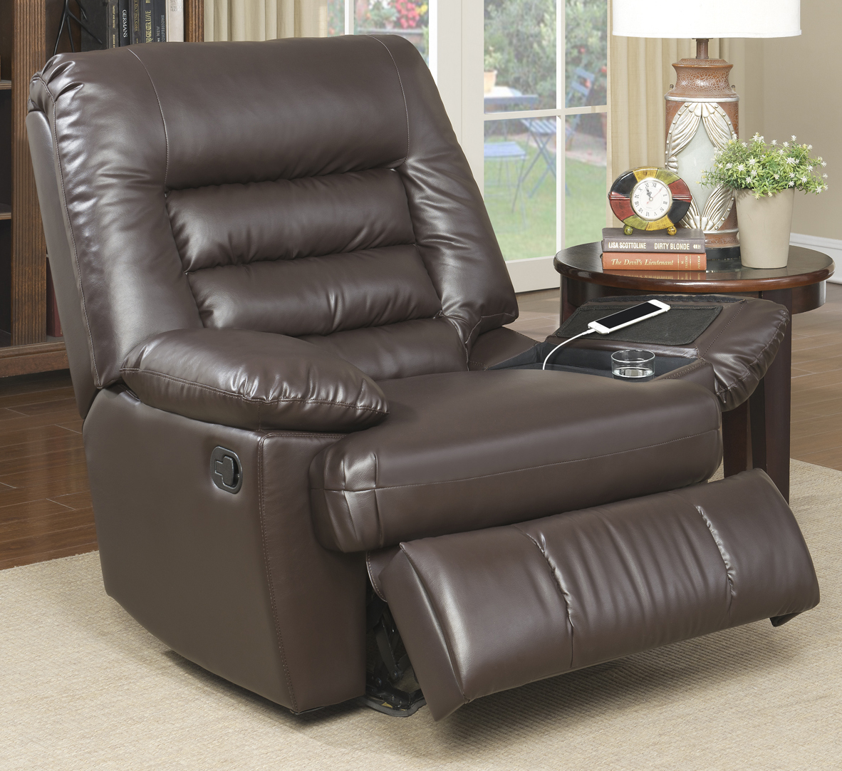 Elegant Serta Big U0026 Tall Memory Foam Massage Recliner, Multiple Colors