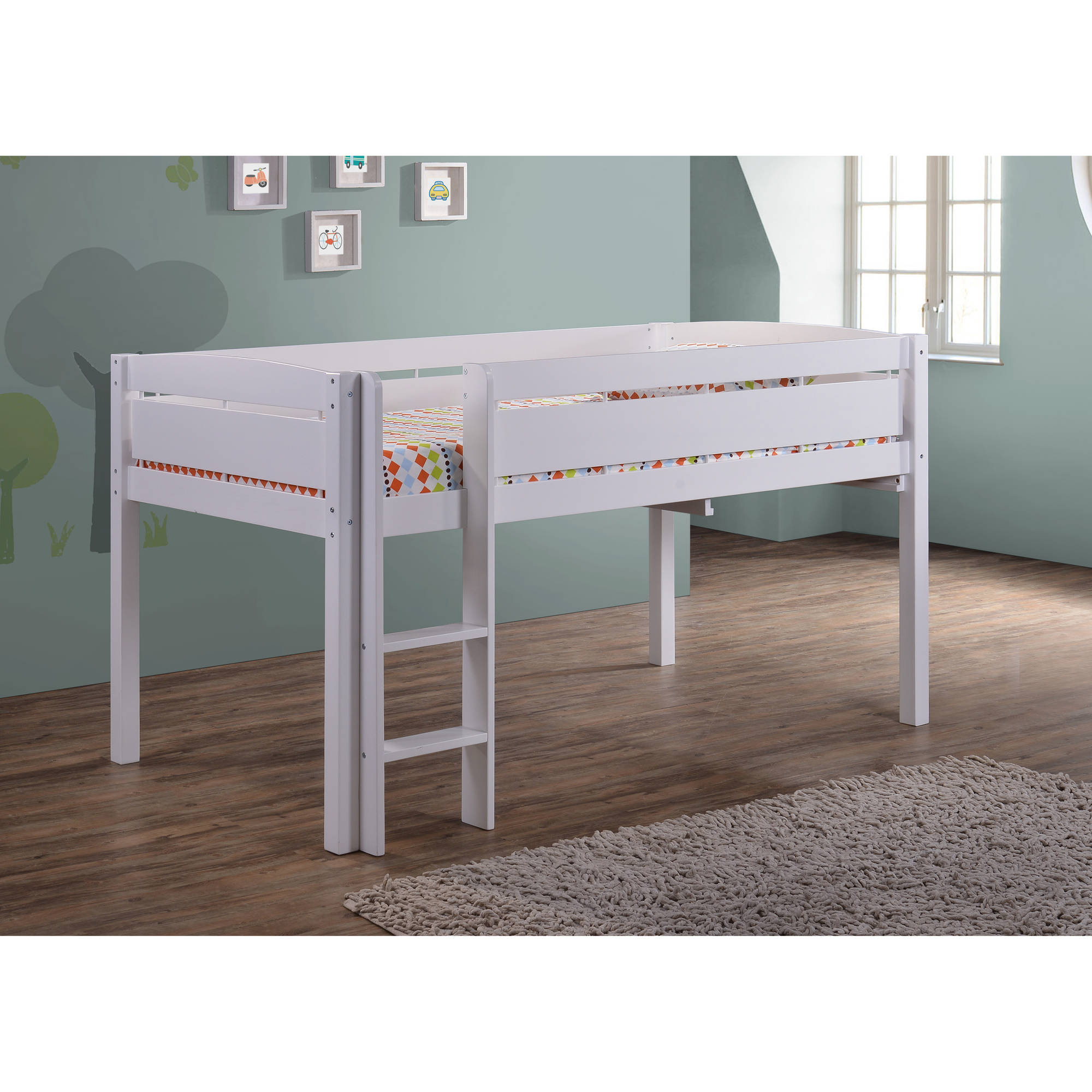 Details About Canwood Whistler Junior Loft Bed White