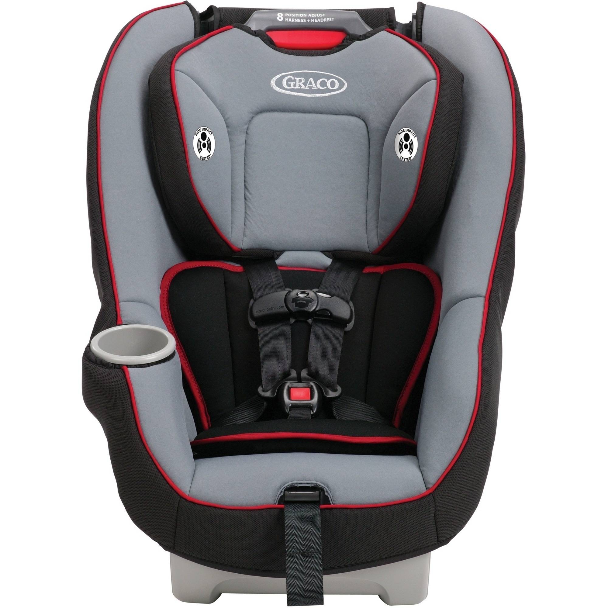 Graco 8w402ced Contender 65 Convertible Car Seat Chili Red About This Product Picture 1 Of 7 2