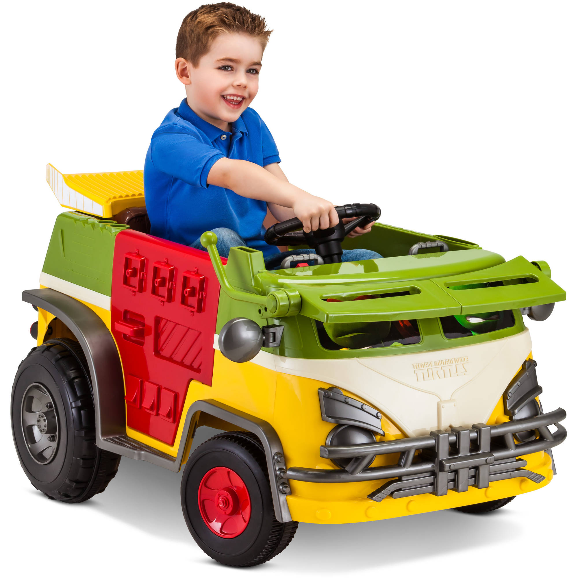 For Boys Toy Cars To Ride In : Teenage mutant ninja turtles v powered ride on