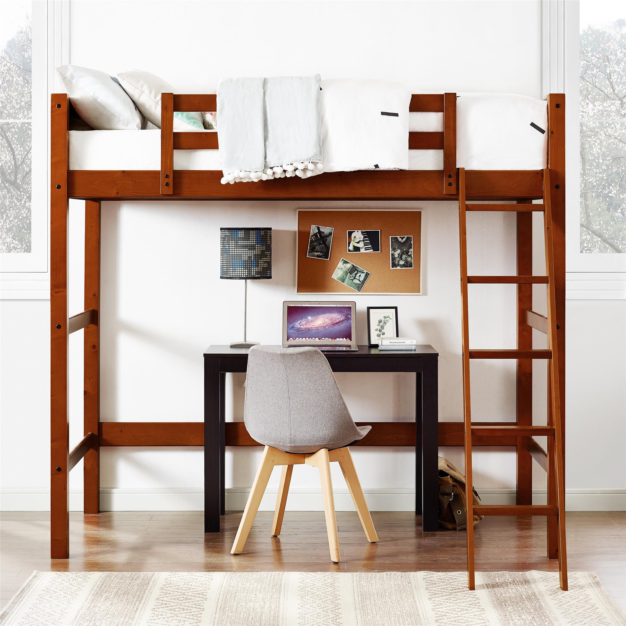 Your Zone Zzz Collection Loft Bed Multiple Colors Ebay
