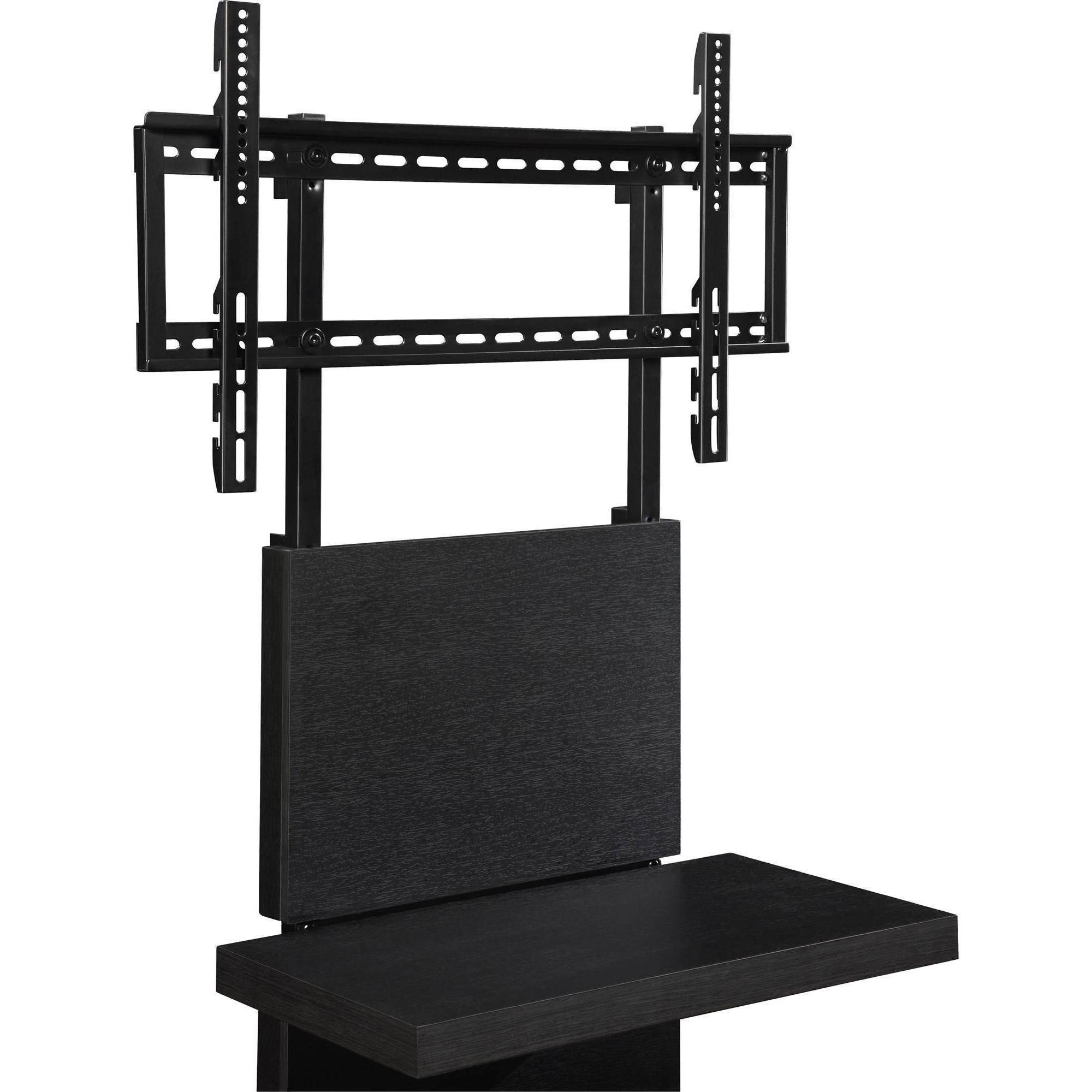wall mounted tv cabinet altra wall mount tv stand with 3 shelves for tvs up to 60 11485