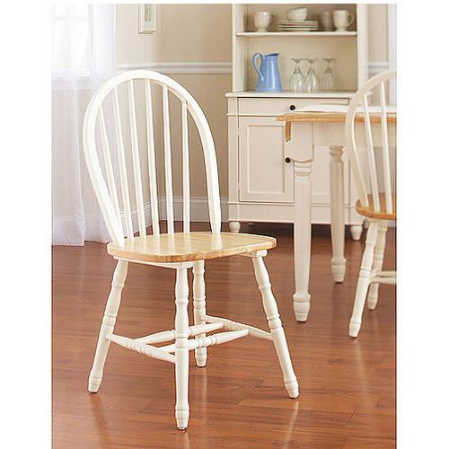 Better Homes And Gardens Autumn Lane Windsor Chairs Set Of 2 White Natura