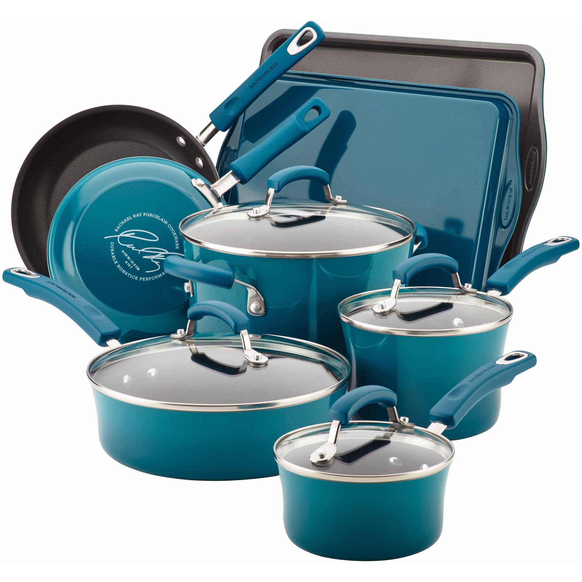 rachael ray cookware pots and pans rachael best nonstick cookware set 28445