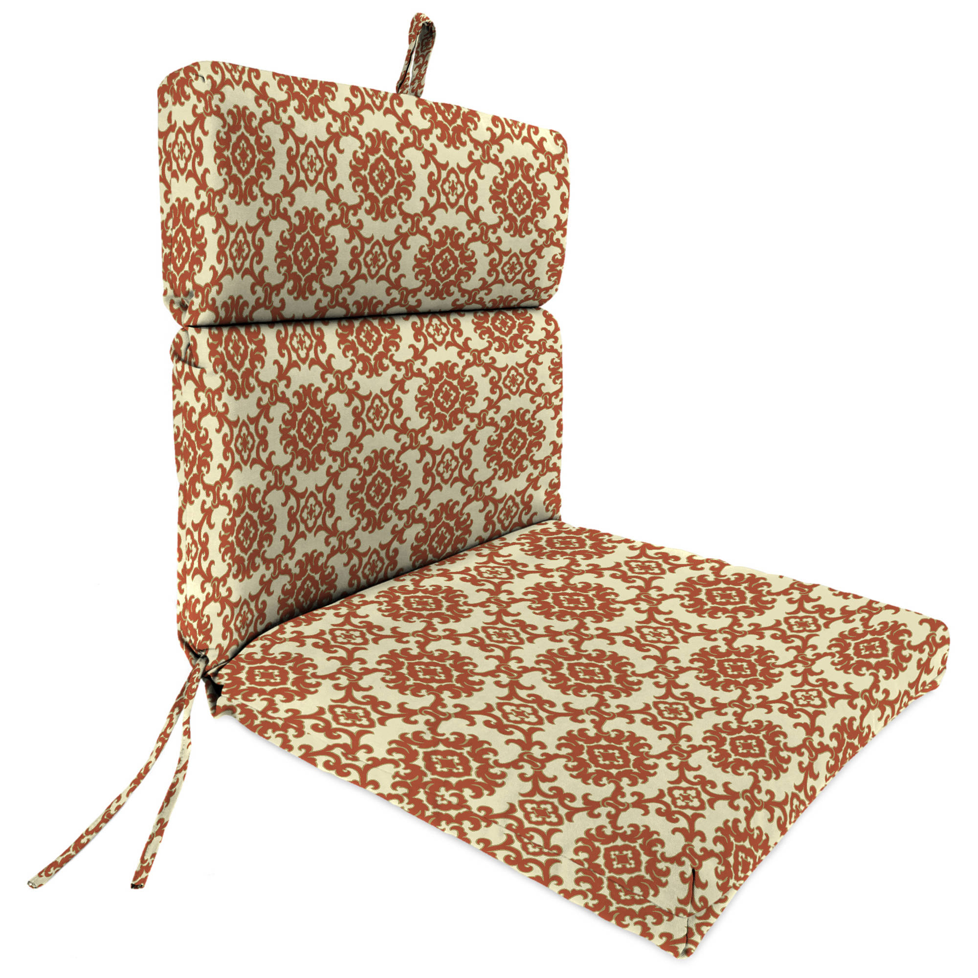 Details about jordan manufacturing outdoor patio chair cushion medallion toffee
