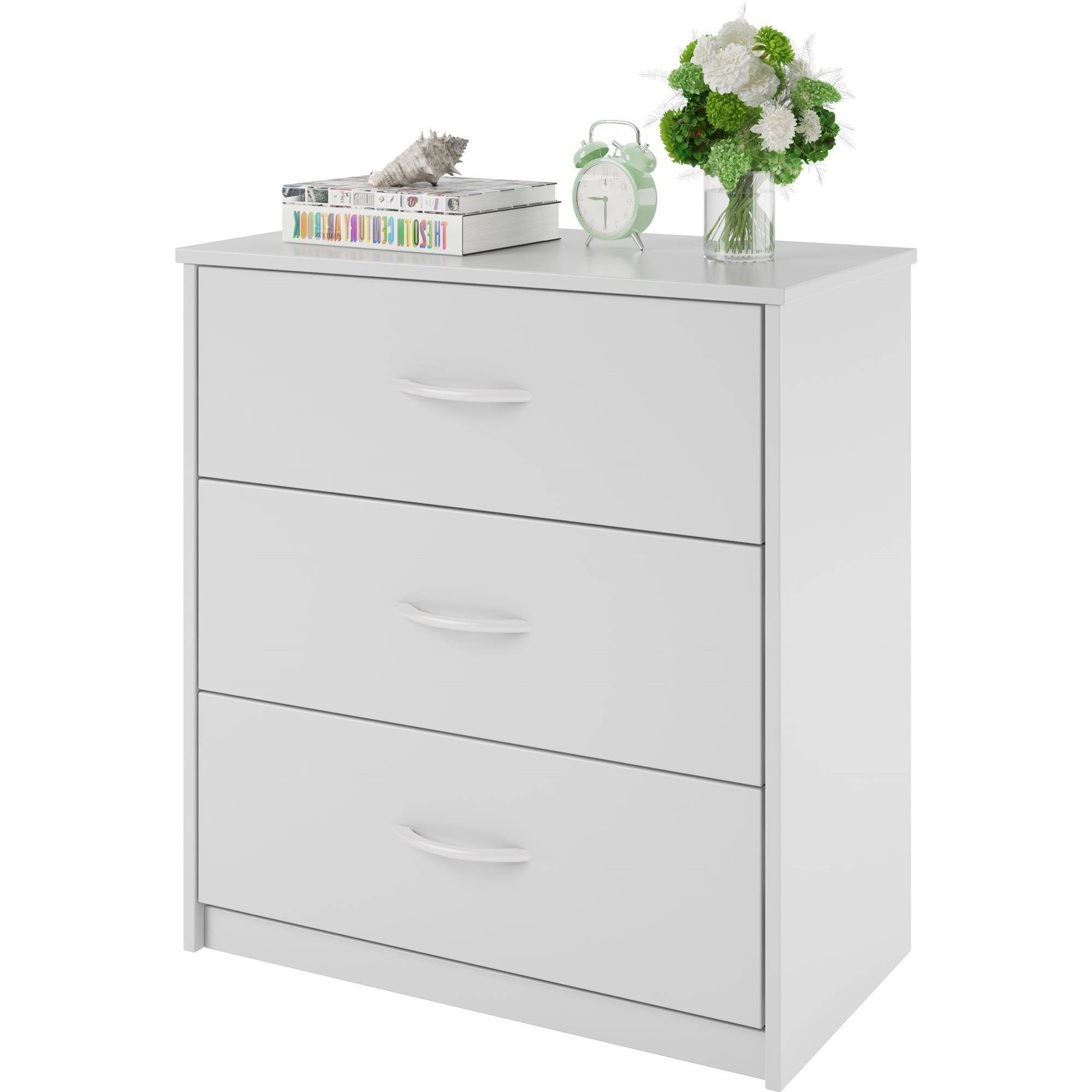 Click Thumbnail To Enlarge Mainstays 3 Drawer Dresser