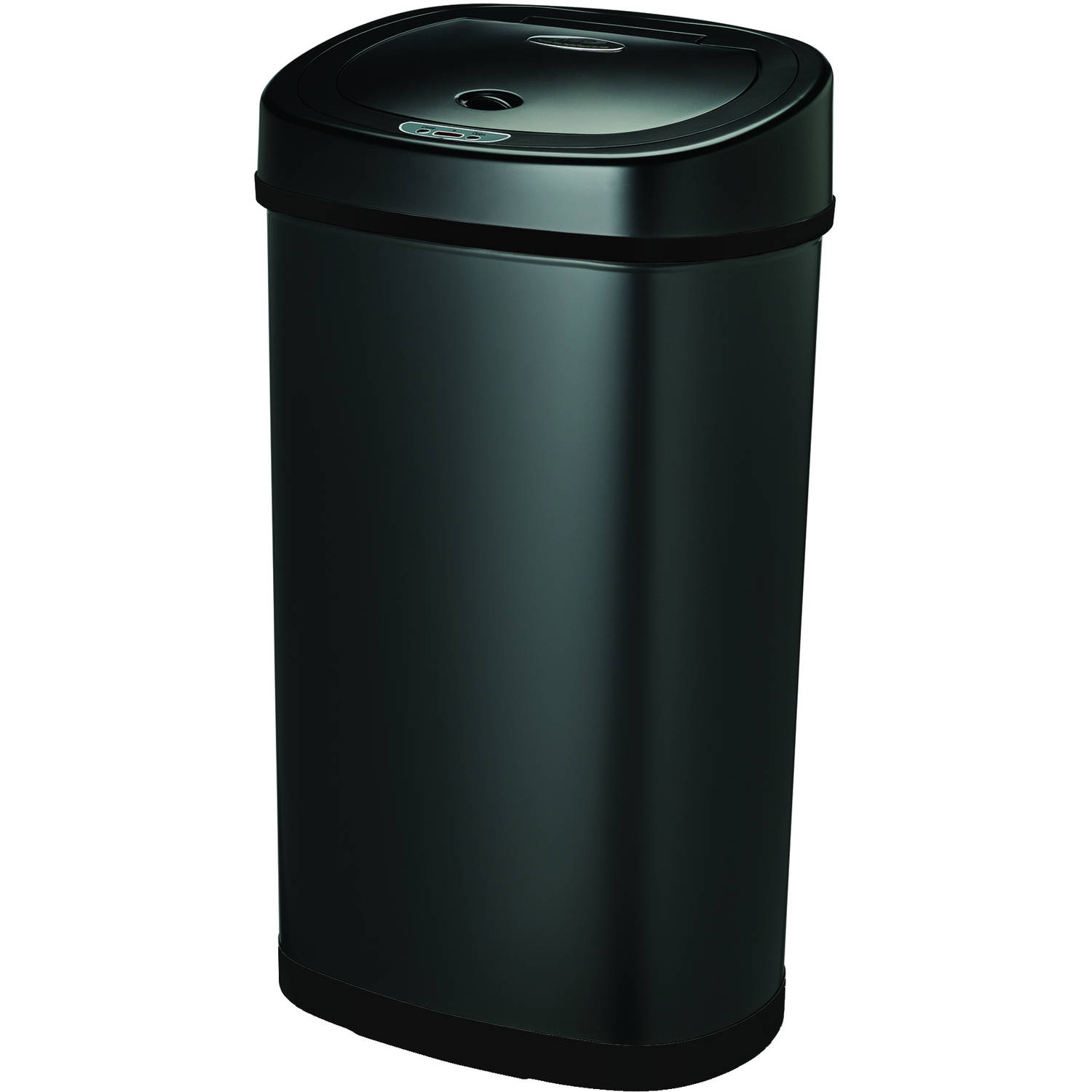 Charmant Nine Stars Motion Sensor Touchless 13.2 Gallon Trash Can, Black | EBay